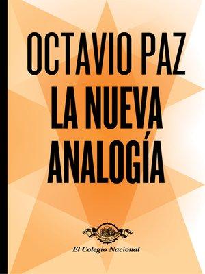 cover image of La nueva analogía