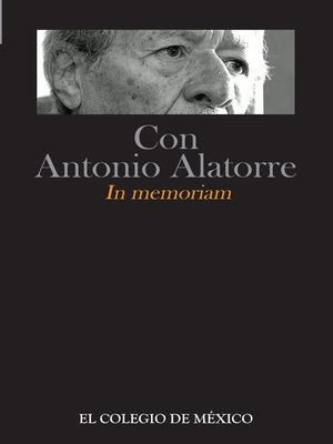 cover image of Con Antonio Alatorre