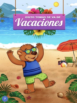 cover image of Osito Tomás se va de vacaciones