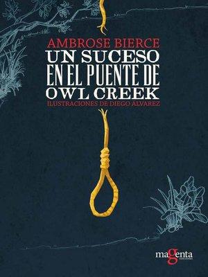 cover image of Un suceso en el puente de Owl Creek