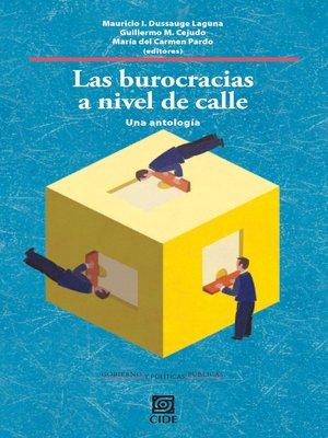 cover image of Las burocracias a nivel de calle