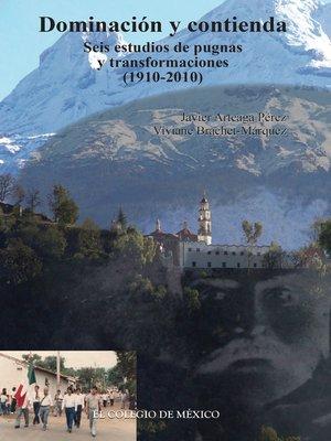 cover image of Dominación y contienda
