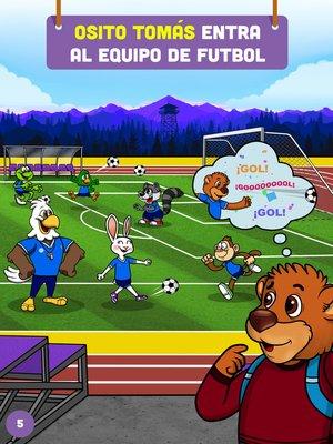 cover image of Osito Tomás entra al equipo de futbol