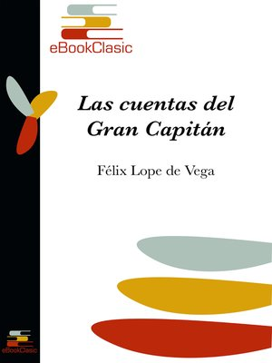 cover image of Las cuentas del Gran Capitán (Anotado)