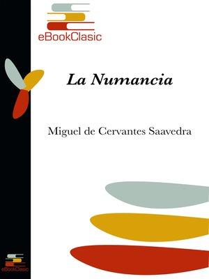 cover image of La Numancia (Anotado)