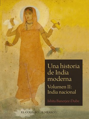 cover image of Una historia de India moderna