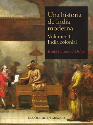 cover image of Una historia de India moderna
