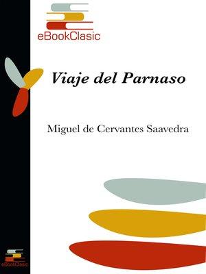 cover image of Viaje del Parnaso (Anotado)