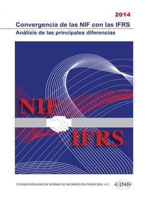 cover image of Convergencia de las NIF con las IFRS