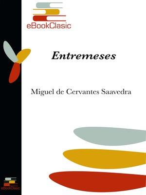 cover image of Entremeses (Anotado)