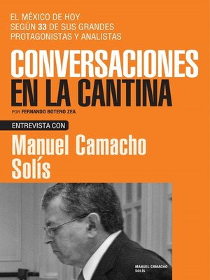 cover image of Manuel Camacho Solís