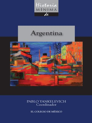 cover image of Historia mínima de Argentina