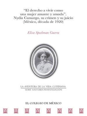 cover image of ''El derecho a vivir como una mujer amante y amada''