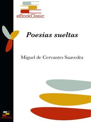 cover image of Poesías sueltas (Anotado)