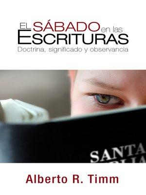 cover image of El sábado en las Escrituras