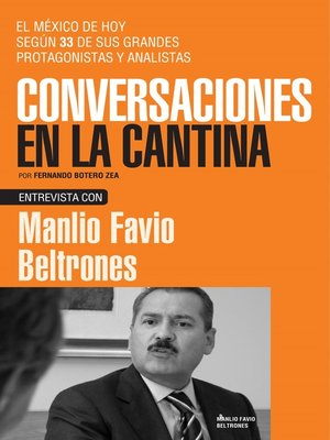 cover image of Manlio Flavio Beltrones