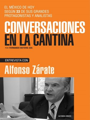 cover image of Alfonso Zárate