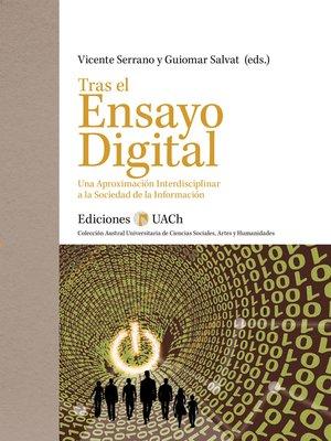 cover image of Tras el Ensayo Digital