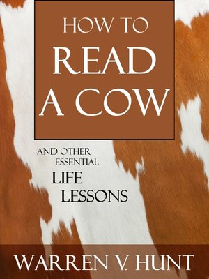 cover image of How to Read a Cow