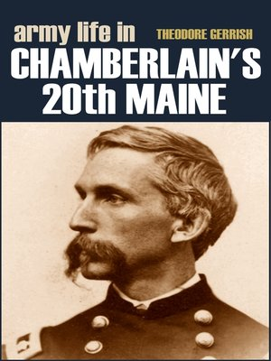 cover image of Army Life in Chamberlain's 20th Maine