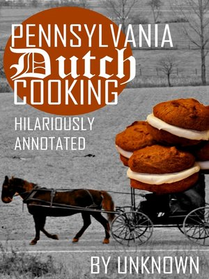 cover image of Pennsylvania Dutch Cooking