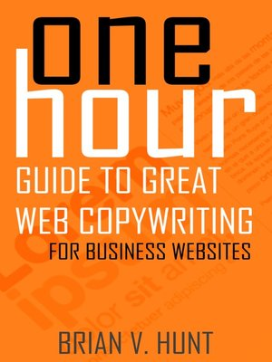 cover image of One Hour Guide to Great Web Copywriting