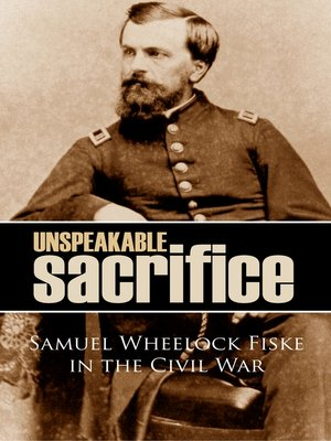 cover image of Unspeakable Sacrifice
