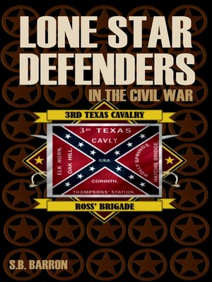 cover image of Lone Star Defenders in the Civil War