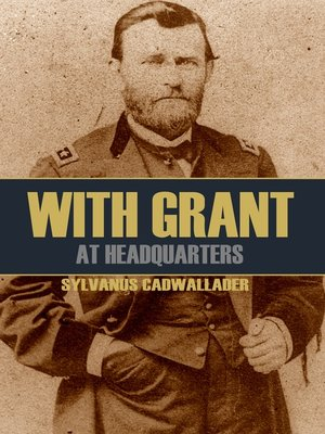 cover image of With Grant at Headquarters