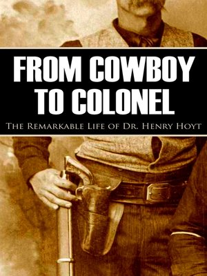 cover image of From Cowboy to Colonel