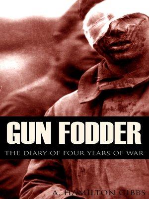cover image of Gun Fodder