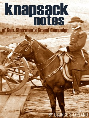 cover image of Knapsack Notes of Sherman's Grand Campaign