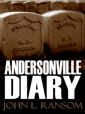 cover image of Andersonville Diary