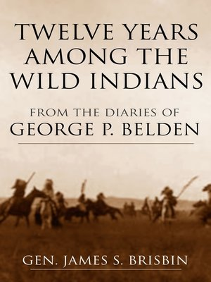 cover image of Twelve Years among the Wild Indians