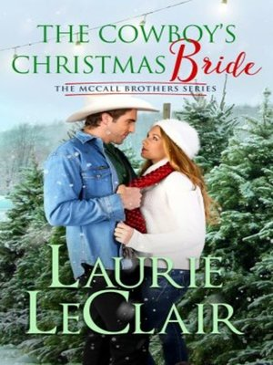 cover image of The Cowboy's Christmas Bride