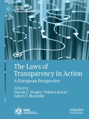 cover image of The Laws of Transparency in Action