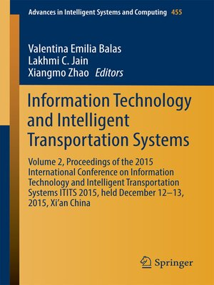 cover image of Information Technology and Intelligent Transportation Systems