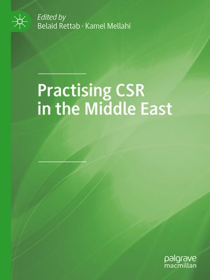 cover image of Practising CSR in the Middle East