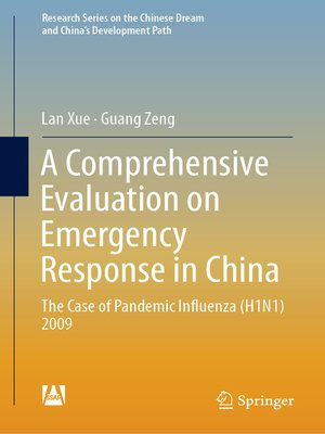 cover image of A Comprehensive Evaluation on Emergency Response in China