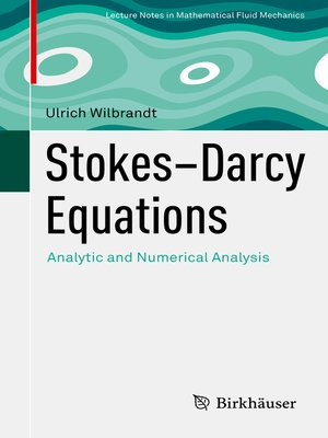 cover image of Stokes–Darcy Equations