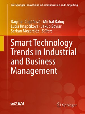 cover image of Smart Technology Trends in Industrial and Business Management