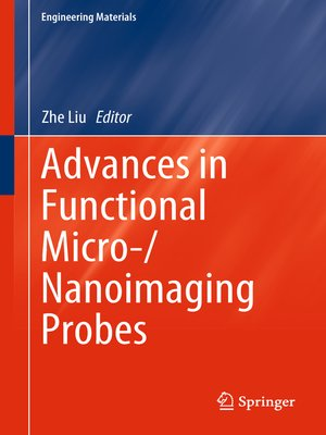cover image of Advances in Functional Micro-/Nanoimaging Probes