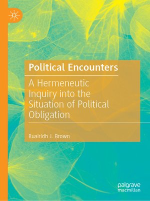 cover image of Political Encounters