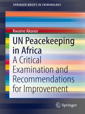 cover image of UN Peacekeeping in Africa
