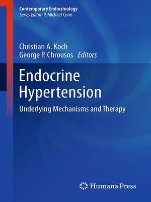 cover image of Endocrine Hypertension