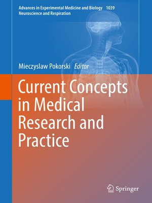 cover image of Current Concepts in Medical Research and Practice