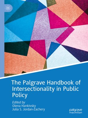 cover image of The Palgrave Handbook of Intersectionality in Public Policy