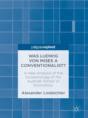 cover image of Was Ludwig von Mises a Conventionalist?