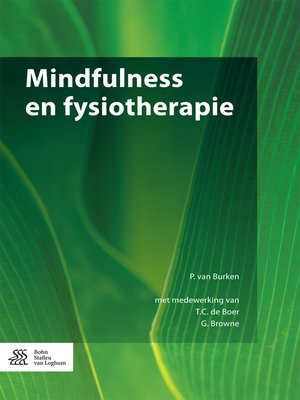 cover image of Mindfulness en fysiotherapie