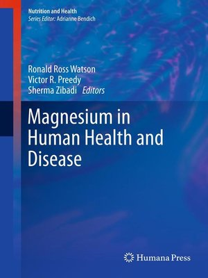 cover image of Magnesium in Human Health and Disease